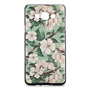 Etui Til Samsung Galaxy Mønster Bakdeksel Blomsternål i krystall Myk TPU til A7 A5