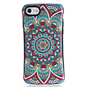 Etui Til Apple iPhone 7 Plus iPhone 7 Mønster Bakdeksel Mandala Myk TPU til iPhone 7 Plus iPhone 7 iPhone 6s Plus iPhone 6s iPhone 6 Plus