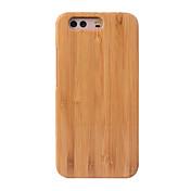 Cornmi para huawei p10 más la cubierta del caso p10 cubierta de madera dura de bambú cubre la cubierta de madera de la cáscara