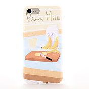 Para Carcasa Funda Diseños Cubierta Trasera Funda Comida Suave TPU para AppleiPhone 7 Plus iPhone 7 iPhone 6s Plus iPhone 6 Plus iPhone