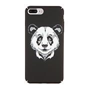 Para la PC dura 6s del animal de la contraportada del patrón de la panda de la cubierta del caso del iphone 7 7plus de la manzana más 6