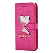 Etui Til Samsung Galaxy S8 Plus / S8 Lommebok / Kortholder / med stativ Heldekkende etui Ensfarget Hard PU Leather til S8 Plus / S8 / S7 edge