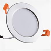 1pc 9W 900lm 20 LED Fácil Instalación Luz Empotrada Decorativa Luces LED Descendentes Blanco Cálido Blanco Fresco AC 85-265V