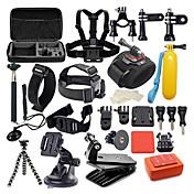 Accesorios Kit 42 en 1 / Impermeable por Cámara acción Gopro 6 / Gopro 5 / Xiaomi Camera Buceo / Surfing / Caza y Pesca El plastico /