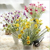 Kunstige blomster 1 Gren Europeisk Stil Kurvplante Bordblomst