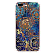 Para iPhone 8 iPhone 8 Plus Carcasa Funda Diseños Cubierta Trasera Funda Mandala Suave TPU para Apple iPhone 8 Plus iPhone 8 iPhone 7
