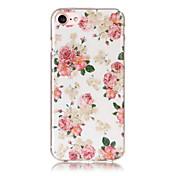 Funda Para iPhone 5 Apple IMD Diseños Funda Trasera Flor Suave TPU para iPhone SE/5s iPhone 5