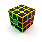 Rubiks kube Karbonfiber 3*3*3 Glatt Hastighetskube Magiske kuber Kubisk Puslespill Matte Konkurranse Gave Unisex