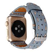 Ver Banda para Apple Watch Series 3 / 2 / 1 Apple Hebilla Clásica Cuero Auténtico Correa de Muñeca