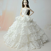 Vestidos Vestido por Muñeca Barbie  por Chica de muñeca de juguete