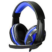 Over øre / Pannebånd Med ledning Hodetelefoner Plast Gaming øretelefon Med volumkontroll / Med mikrofon / Støyisolerende Headset