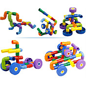 DIY 키트 조립식 블럭 선물 조립식 블럭 플라스틱 3-6년 이전 장난감