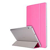 Funda Para Huawei Funda de Cuerpo Entero Casos Tablet Un Color Dura Cuero de PU para