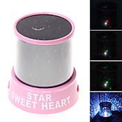 Lámpara de cielo estrellado Iluminación LED Proyector Juguetes ABS Romántico 1 Piezas Niños Regalo