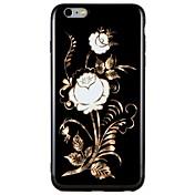 Etui Til Apple iPhone 7 Plus iPhone 7 Mønster Bakdeksel Blomsternål i krystall Myk TPU til iPhone 7 Plus iPhone 7 iPhone 6s Plus iPhone