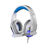 G5300 Sobre oreja / Cinta Con Cable Auriculares Armadura equilibrada Acero inoxidable / El plastico De Videojuegos Auricular Aislamiento