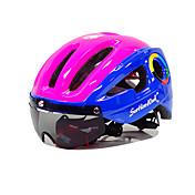 헬맷 자전거 헬멧 CE 싸이클링 10 통풍구 산 울트라 라이트 (UL) 스포츠 산악 사이클링 도로 사이클링 사이클링 사이클링 / 자전거