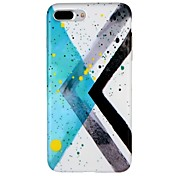Funda Para Apple iPhone 7 Plus iPhone 7 Diseños Funda Trasera Diseño Geométrico Suave TPU para iPhone 7 Plus iPhone 7 iPhone 6s Plus