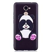 Funda Para Huawei P9 Lite Huawei Diseños Funda Trasera Oso Panda Suave TPU para P10 Lite P10 Huawei P9 Lite P8 Lite (2017) Honor 6X
