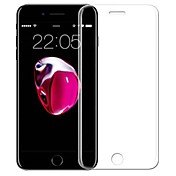 Skjermbeskytter Apple til iPhone 8 Herdet Glass 1 stk Heldekkende beskyttelse 3D bøyd kant Anti-fingeravtrykk Motstår Risser