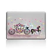 """MacBook Etui til Sommerfugl Blomsternål i krystall Tegneserie PVC Ny MacBook Pro 15"""" Ny MacBook Pro 13"""" Macbook Pro 15 """" MacBook Air 13 """""""