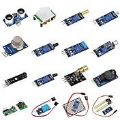 kit diy 16 en 1 del módulo del sensor para el pi de la frambuesa