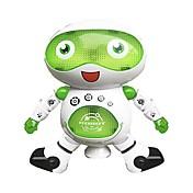 Robot RC LZ444-6 Electrónica para niños ABS Canto Baile Paseo Hablando Múltiples Funciones Control Remoto