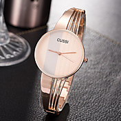 Mujer Reloj de Pulsera Creativo / Reloj Casual / Cool Aleación Banda Encanto / Lujo / Casual Plata / Oro Rosa / Un año / SSUO 377