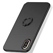 Etui Til Apple iPhone X iPhone 8 iPhone 8 Plus iPhone 7 Ringholder Matt Bakdeksel Helfarge Hard PC til iPhone X iPhone 8 Plus iPhone 8