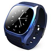 rklokke M26 bærbar Smartklokke, mediekontroll / håndfrie samtaler / pedometer / anti-tapt for android / ios