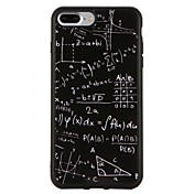 Funda Para Apple iPhone 7 Plus iPhone 7 Antigolpes Diseños Funda Trasera Diseño Geométrico Suave TPU para iPhone 7 Plus iPhone 7 iPhone
