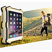 Funda Para Apple iPad Mini 4 Mini iPad 3/2/1 Agua / Polvo / prueba del choque Funda de Cuerpo Entero Color sólido Dura Metal para iPad