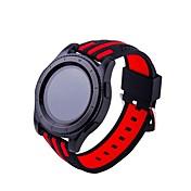 para el reloj del color del encanto del rayo de la silicona del engranaje s3 del samsung con la correa del reloj de los deportes de la