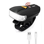 자전거 라이트 LED LED 싸이클링 충격 방지 전문가용 조절가능 고품질 내구성 휴대성 리튬 이온 300 루멘 USB 레드 차가운 화이트 캠핑/등산/동굴탐험 일상용 사이클링 사냥