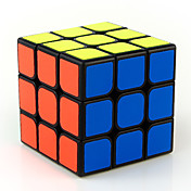 Rubiks kube MoYu 3*3*3 Glatt Hastighetskube Magiske kuber Pedagogisk leke Stresslindrende leker Kubisk Puslespill Glatt klistremerke