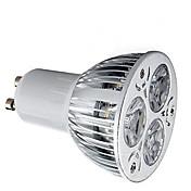 HRY 9W 400 lm GU10 LED-spotpærer 3 leds Høyeffekts-LED Dekorativ Varm hvit Kjølig hvit 85-265V