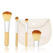 4 Stk. Makeup børster Profesjonell Børstesett Syntetisk hår Klassisk