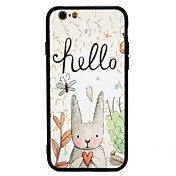 Funda Para Apple iPhone 7 Plus iPhone 7 Antigolpes Diseños Funda Trasera Caricatura Dura ordenador personal para iPhone 7 Plus iPhone 7