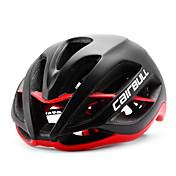 Casco de bicicleta CE EN 1077 CE Ciclismo 11 Ventoleras Ajustable Montaña Utra ligero (UL) Deportes Ciclismo de Montaña Ciclismo de Pista