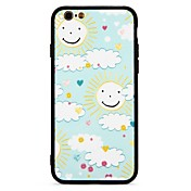 Funda Para Apple iPhone 7 Plus iPhone 7 Antigolpes En Relieve Funda Trasera Caricatura Dura ordenador personal para iPhone 7 Plus iPhone