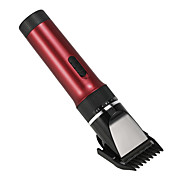 cortadora de pelo eléctrica recortadora de cabello recargable cortadora de pelo recargable de cerámica de titanio de cerámica para