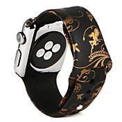 Klokkerem til Apple Watch Series 3 / 2 / 1 Apple Sportsrem Silikon Håndleddsrem