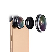mobiltelefon linse mactrem 235 graders fisheye 19x super makro universell kameratelefon linse