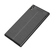 Funda Para Sony Xperia XA1 Ultra Xperia XA1 Antigolpes Congelada Funda Trasera Color sólido Suave TPU para Sony Xperia XZ1 Sony Xperia XZ