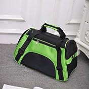 Gato Perro mochila Mascotas Portadores Portátil Transpirable Plegable Un Color Morado Verde Azul