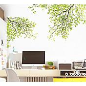 Dekorative Mur Klistermærker - Fly vægklistermærker Blomster / Botanisk Stue / Soverom