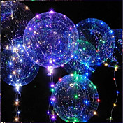 Iluminación LED Globo LED Juguetes Vacaciones Cumpleaños Fosforescente Nuevo diseño Niños Adulto 1pcs Piezas