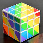 Rubiks kube YONG JUN Alien Ujevnlig terning 3*3*3 Glatt Hastighetskube Magiske kuber Kubisk Puslespill profesjonelt nivå Hastighet Gave