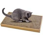 Cat Nip Camas Papel Simple Amigable con las Mascotas Almohadilla para Arañar Sin Parabeno Sin Formol Papel de tarjeta Cartón Cartón de