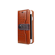 Etui Til Apple iPhone 8 iPhone 8 Plus Kortholder med stativ Flipp Heldekkende etui Helfarge Hard PU Leather til iPhone 8 Plus iPhone 8